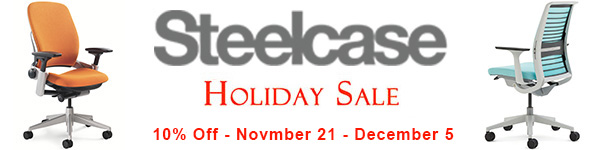 Steelcase 10% Off Holiday Sale