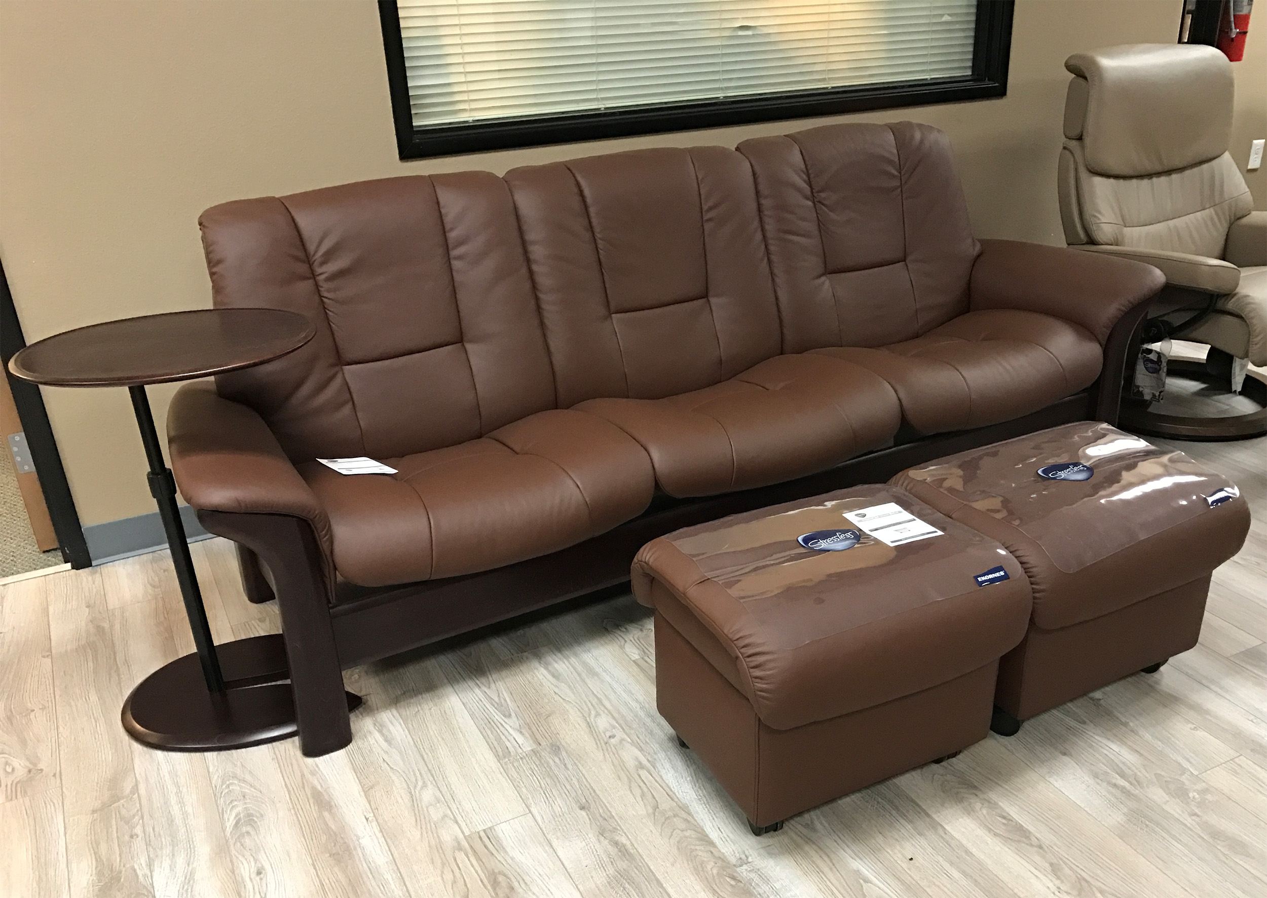 Ekornes Stressless Double Ottoman Soft Modern Ottoman Large Ottomans And Tables Double