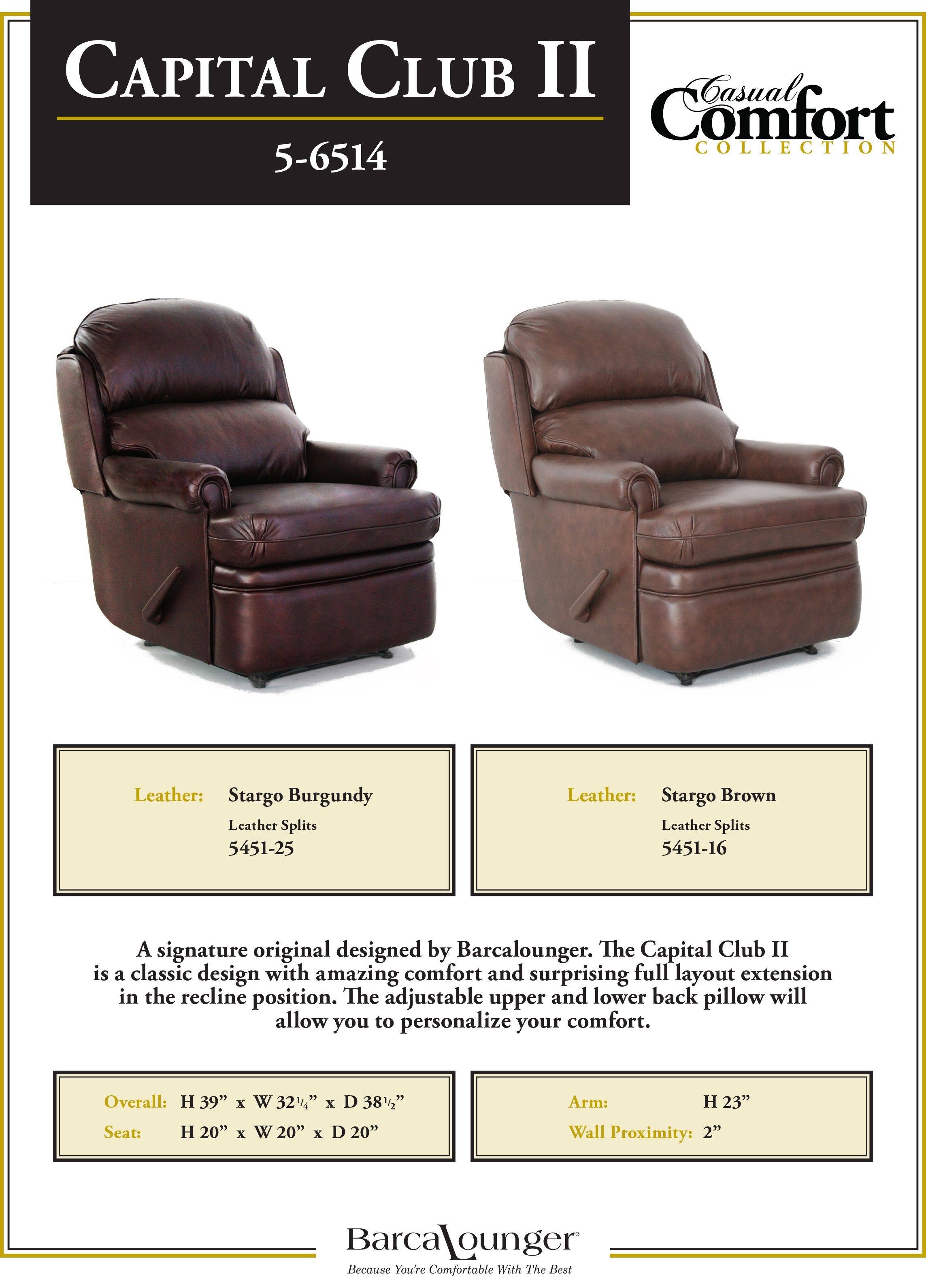 Barcalounger Capital Club II Recliner Chair Leather Dimensions : barcalounger sofa recliners - islam-shia.org