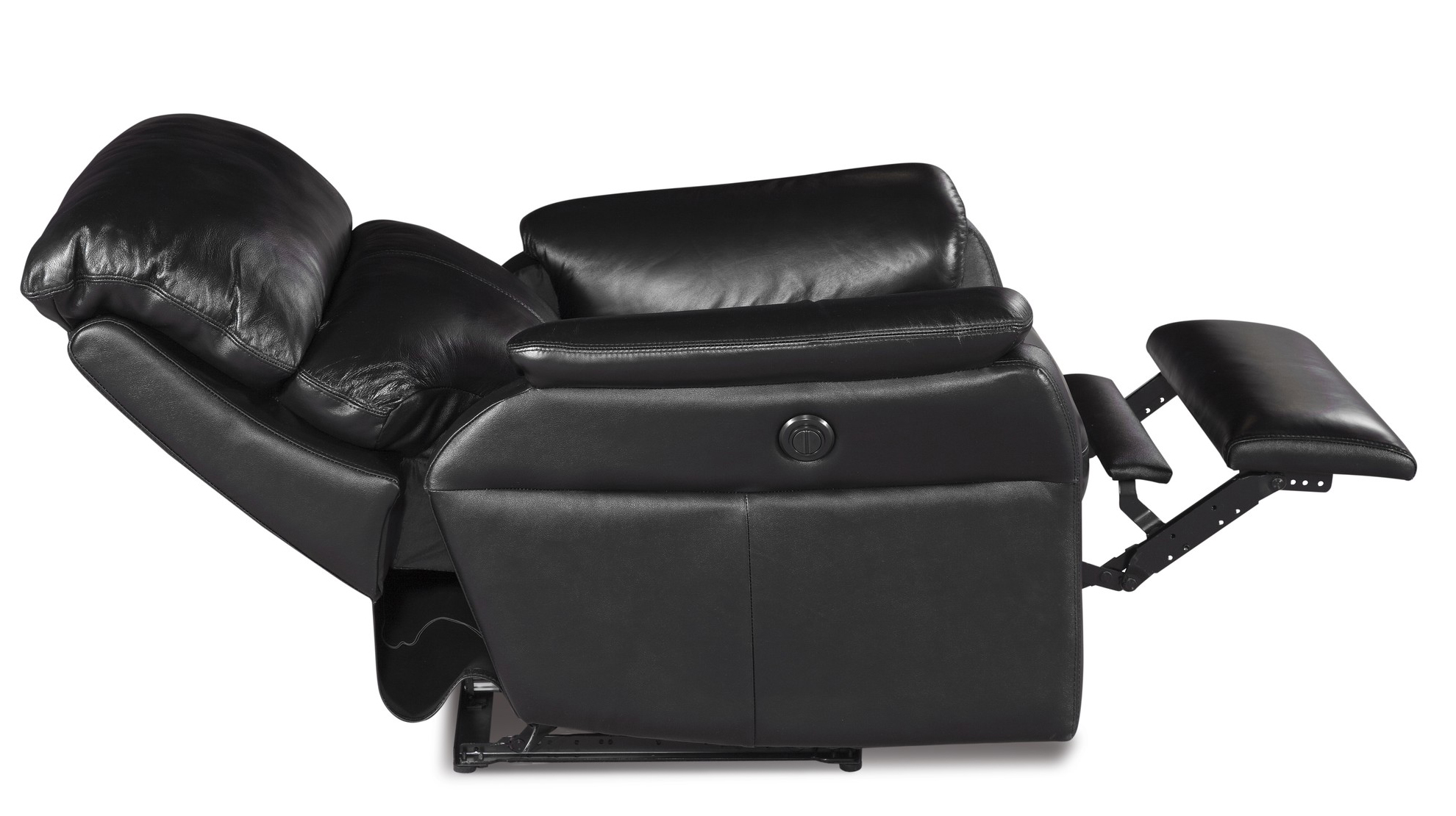 Barcalounger Recliner Cross II Chair Reclined Power Tivoli Ebony Black Leather  sc 1 st  Vitalitywebb.com & Barcalounger Cross II Wall Proximity Hugger Lay Flat Recliner ... islam-shia.org