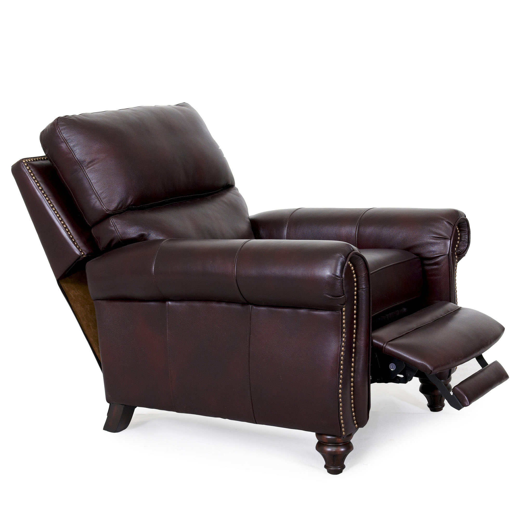 barcalounger dalton ii recliner chair leather recliner