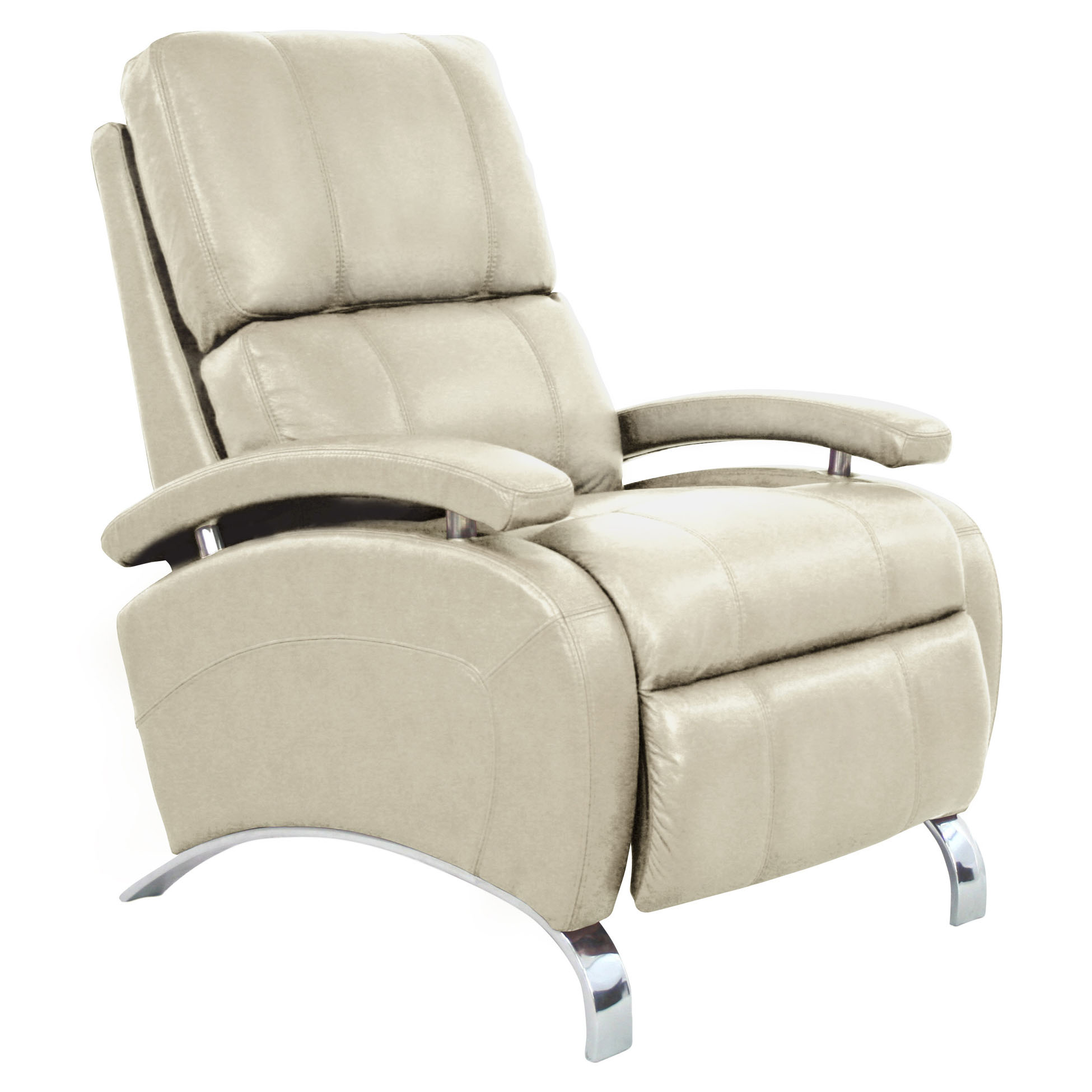 Barcalounger oracle ii recliner chair leather recliner for Chair recliner