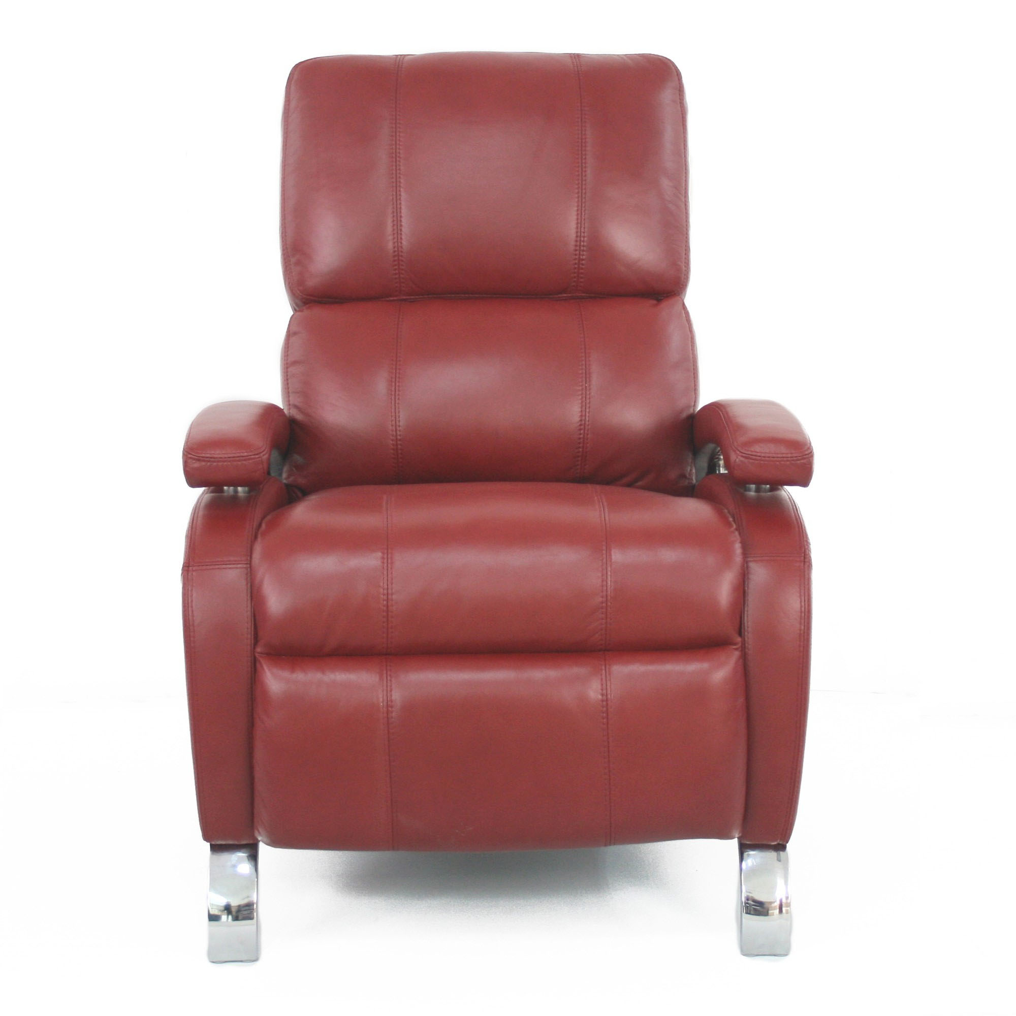 Red Leather Reclining Chair barcalounger oracle ii recliner chair - leather recliner chair