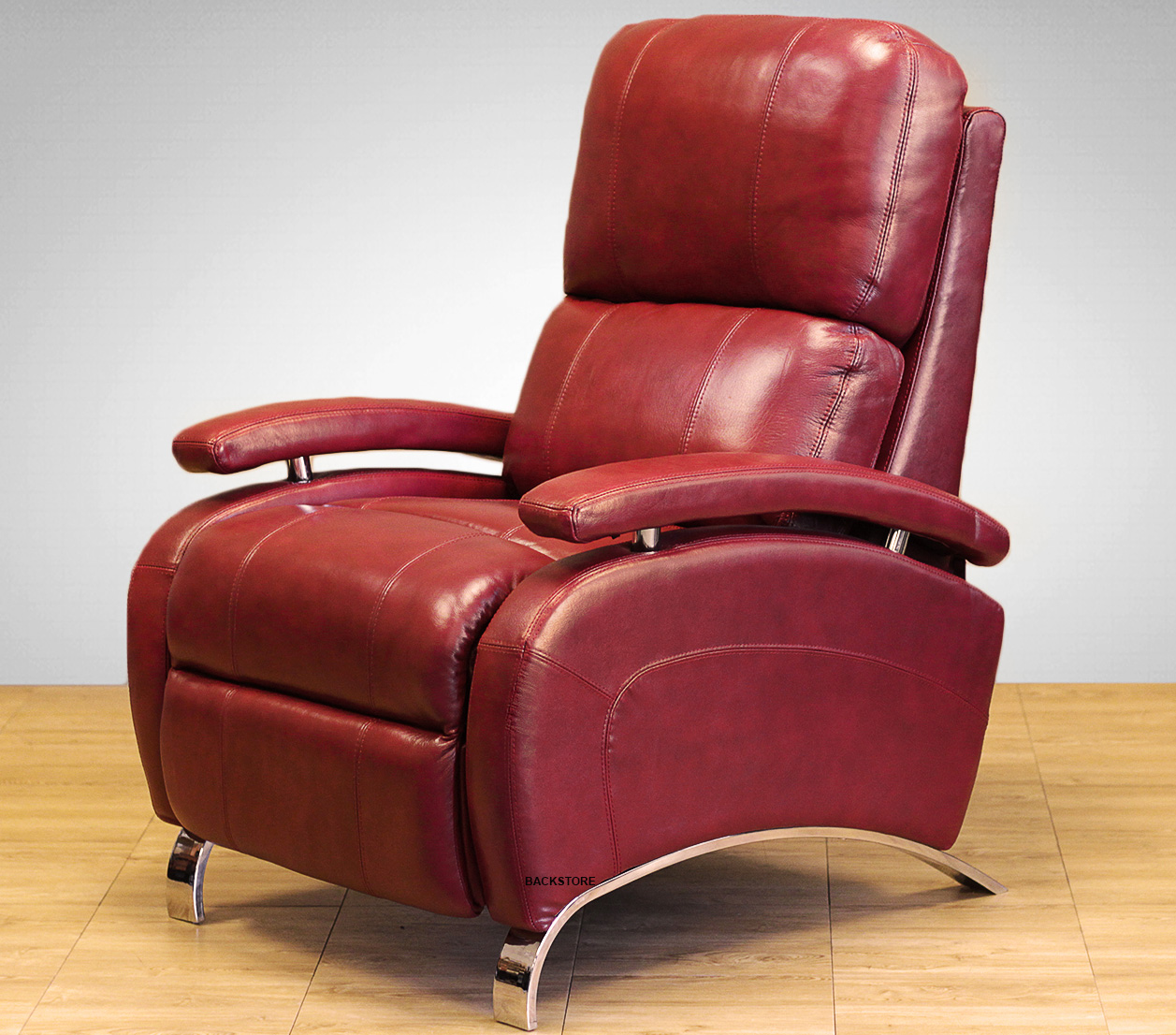 Barcalounger Oracle II Genuine Leather Recliner Lounger ...