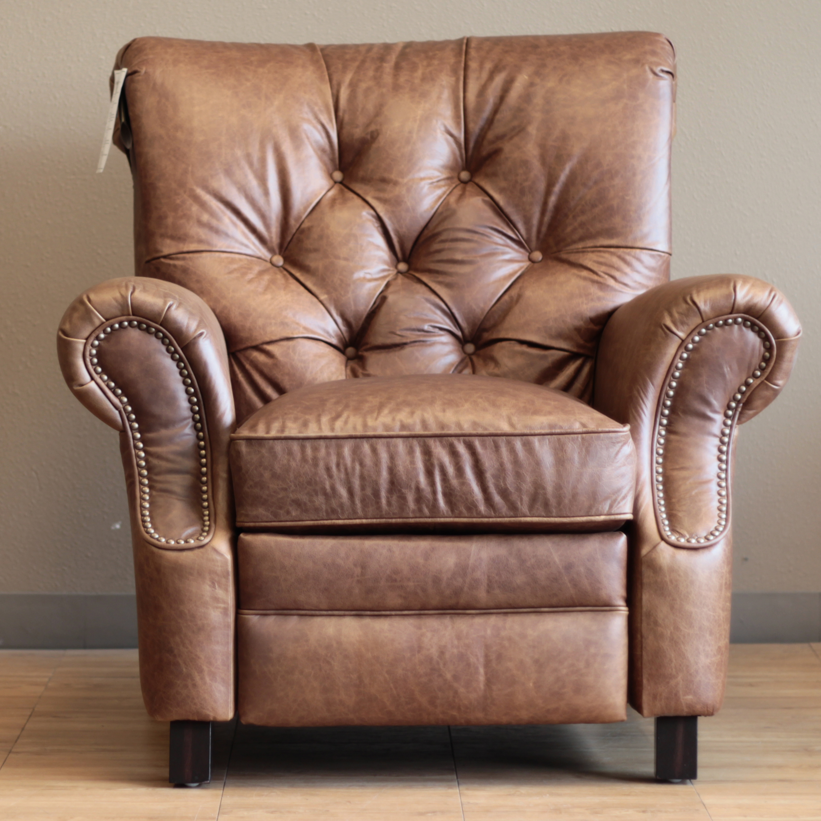Barcalounger Phoenix II Recliner Chair Leather Recliner Chair