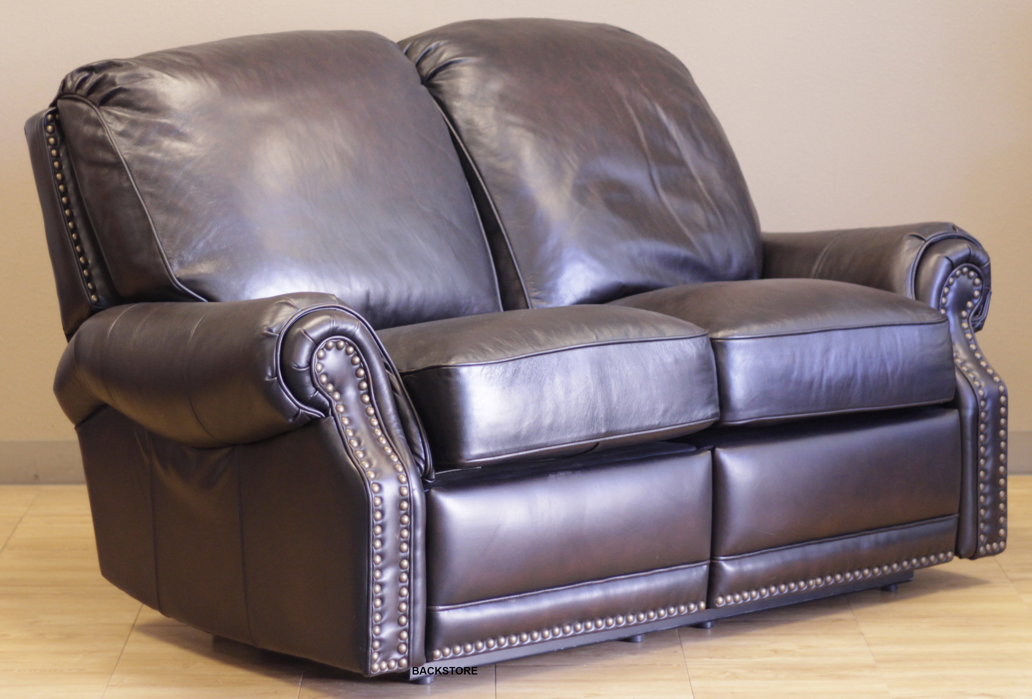 Leather Reclining Loveseat Share Via Email Download A