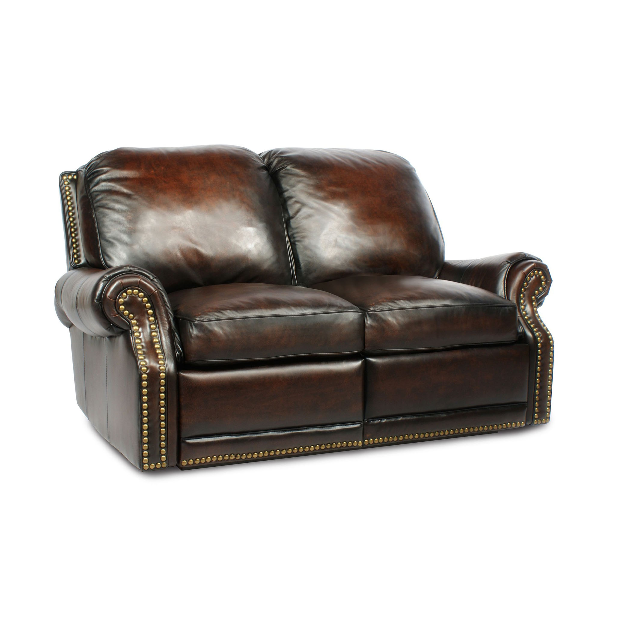 Barcalounger Premier II Leather 2 Seat LoveSeat Sofa Leather 2