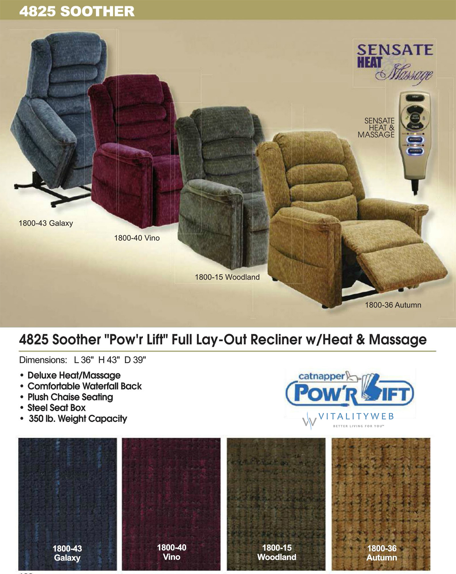 catnapper soother lift chair recliner information - Catnapper Recliner