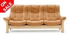 Stressless Buckingham High Back Sofa from Ekornes