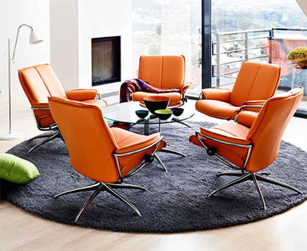 Stressless Clementine Leather City Low Back Recliner Chair by Ekornes & Ekornes Stressless City Low Back Leather Recliner Chair - City ... islam-shia.org