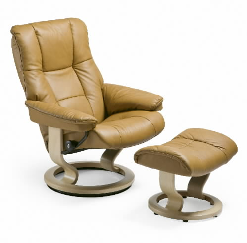 Stressless Paloma Tan Leather Color Chair from Ekornes
