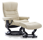 Stressless Nordic Recliner Chair and Ottoman by Ekornes