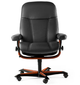 Stressless Consul Office Desk Chair by Ekornes