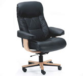 Fjords Muldal Executive Leather Home Office Desk Chair