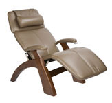 Human Touch PC-095 Electric Recline Silhouette The Perfect Chair Zero Gravity Recliner