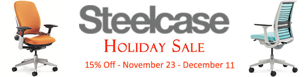 Steelcase Holiday Sale - 10% Off Sale
