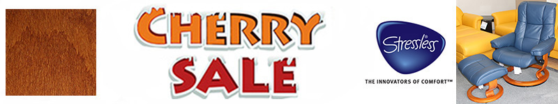 Stressless Cherry Wood Base Holiday Clearance Sale