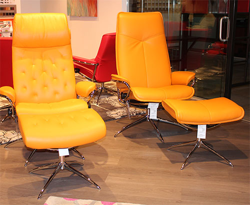 Stressless Paloma Clementine Leather by Ekornes