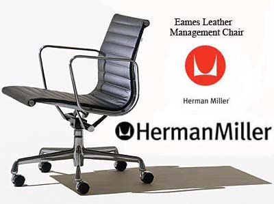 Eames Aluminum Group Management Office Task Desk Chairs By