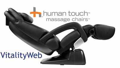 ht7450 black leather massage chair recliner
