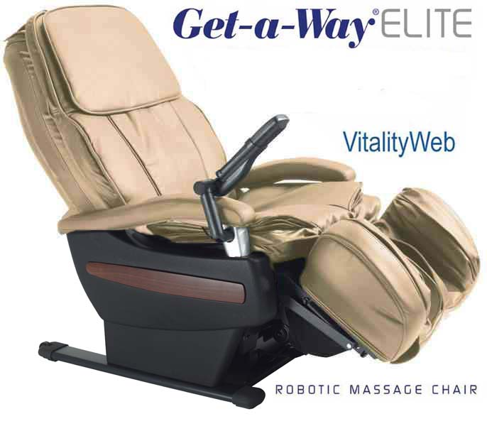 GET A WAY RMS 10 Elite Robotic Home Massage Chair by Interactive