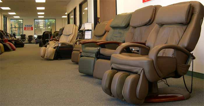 Inada Massage Chair Showroom