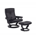 Stressless Alpha Recliner Chair and Ottoman by Ekornes