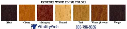 Natural Colors of Wood Stressless Wood Finish Colors