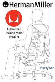 Herman Miller Embody Ergonomic Computer Office Chair Graphite Carbon Balance
