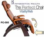 NEW Human Touch Perfect Zero Gravity Chair Recliner