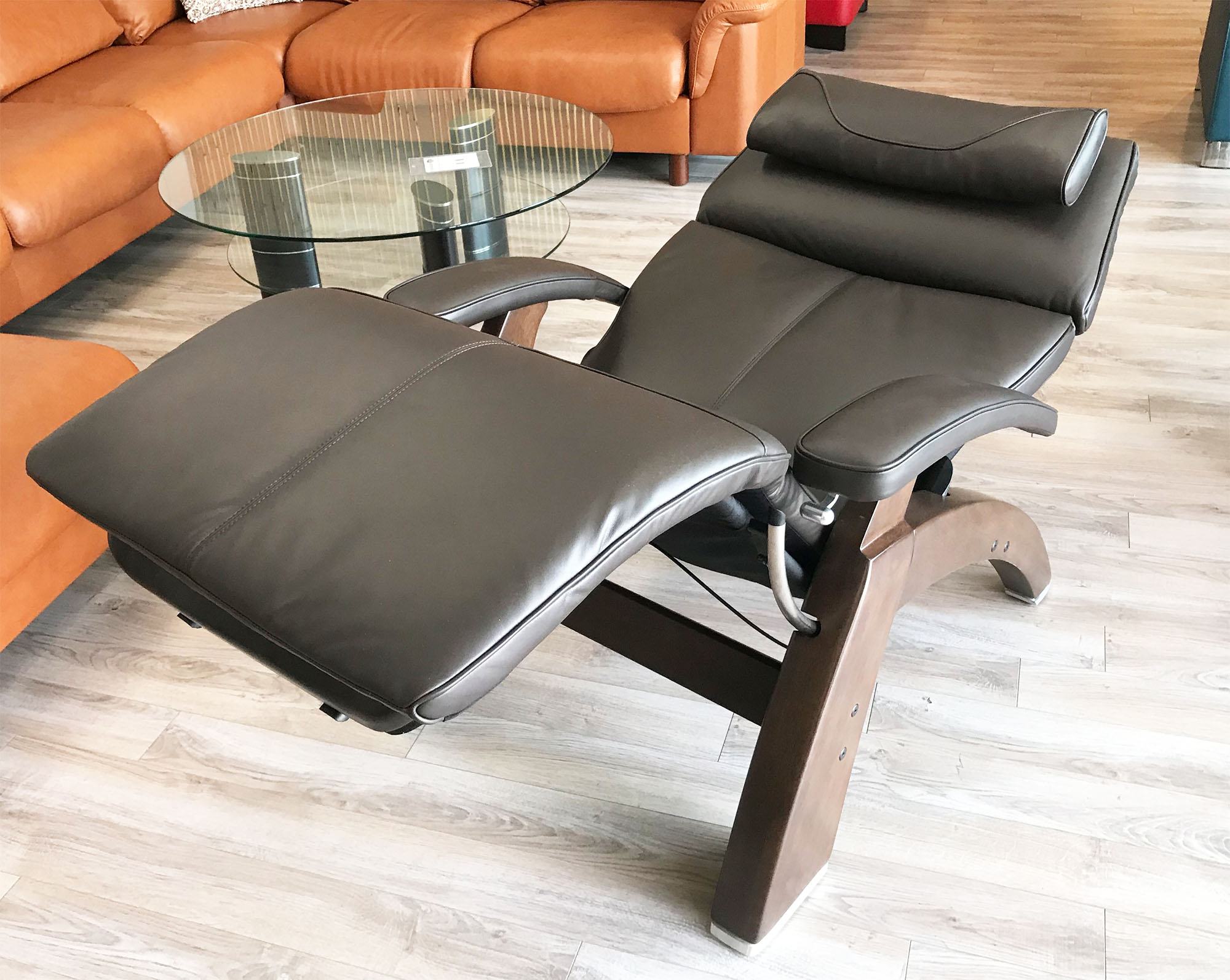 Cool Espresso Leather Pc 420 Classic Manual Plus Perfect Zero Gravity Chair Ergonomic Recliner Gamerscity Chair Design For Home Gamerscityorg