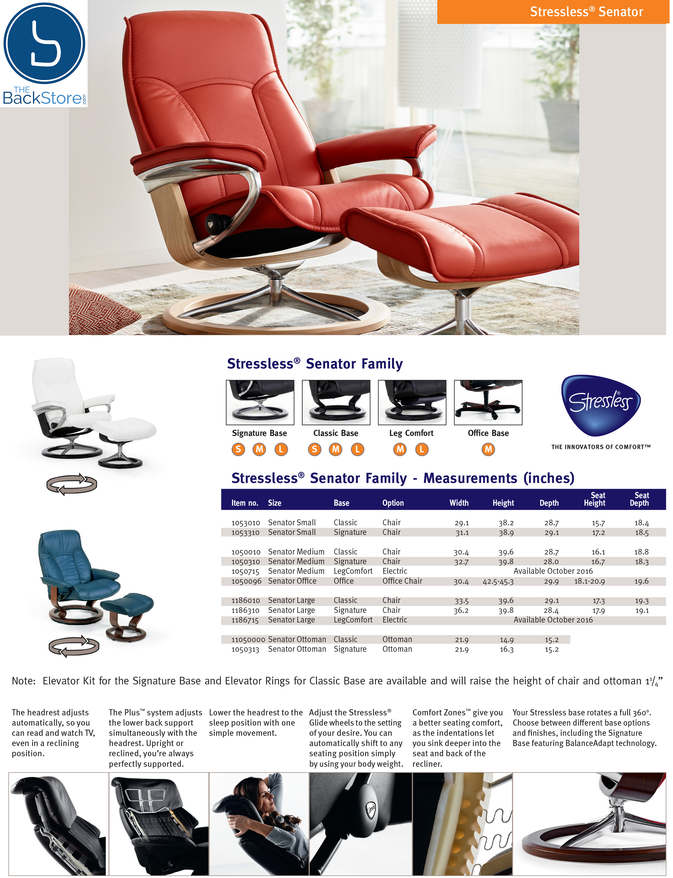 ekornes stressless large governor ergonomic recliner chair lounger