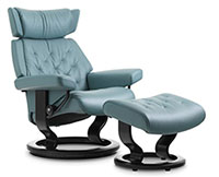 Stressless Skyline Classic Hourglass Wood Base