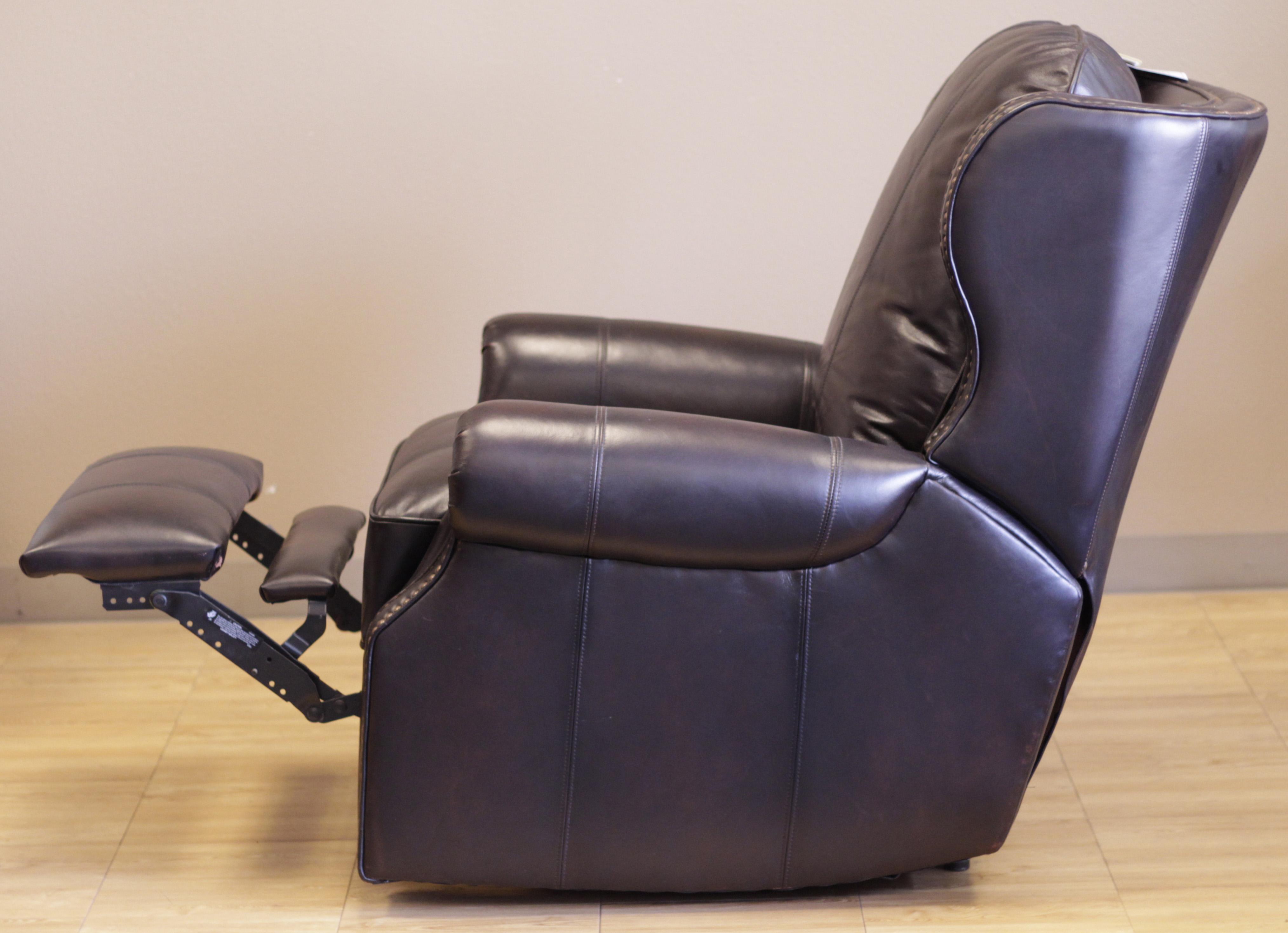 Barcalounger Recliner Bristol Ii Chair Stetson Bordeaux Top Grain Leather