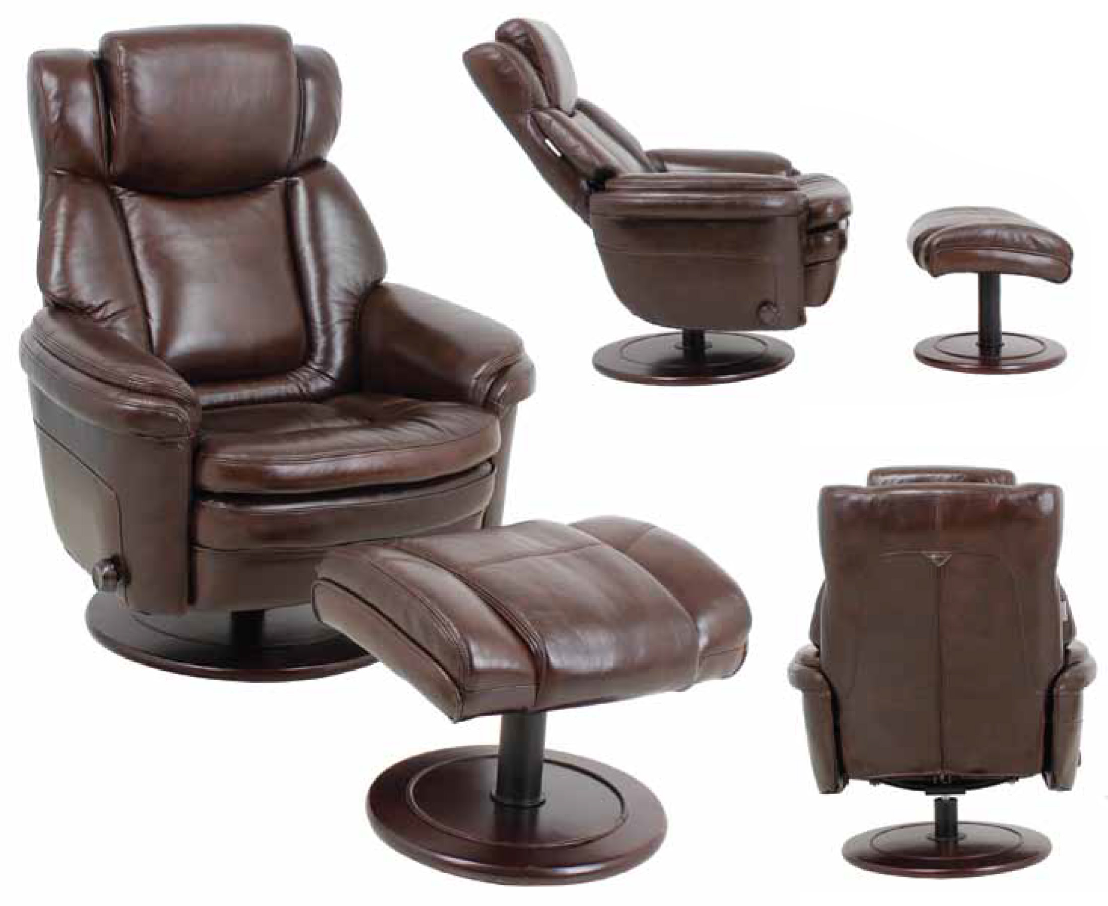 Barcalounger Eclipse Ii Recliner Chair And Ottoman Leather Recliner Chair Furniture Lounge Chair Recliners Chairs Sofas Office Chairs And Other Furniture