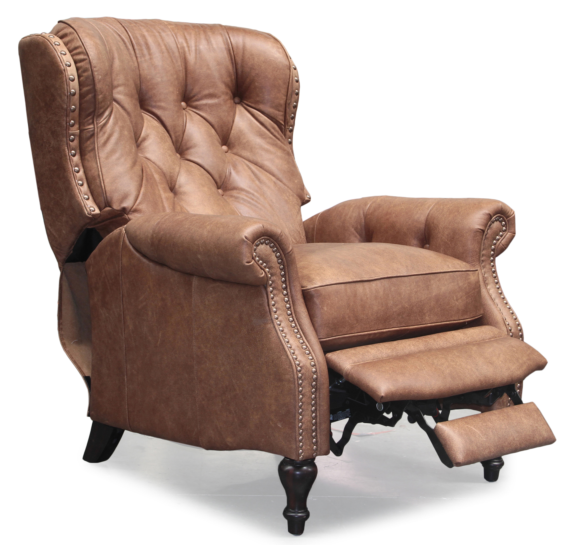 Barcalounger Kendall Ii Sanded Er Leather Recliner Chair
