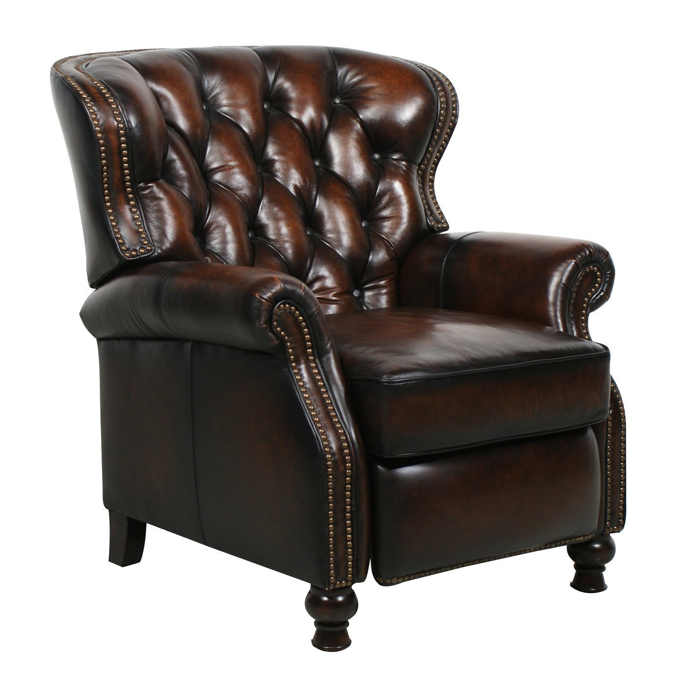 Barcalounger Presidential II Leather Recliner Chair ...
