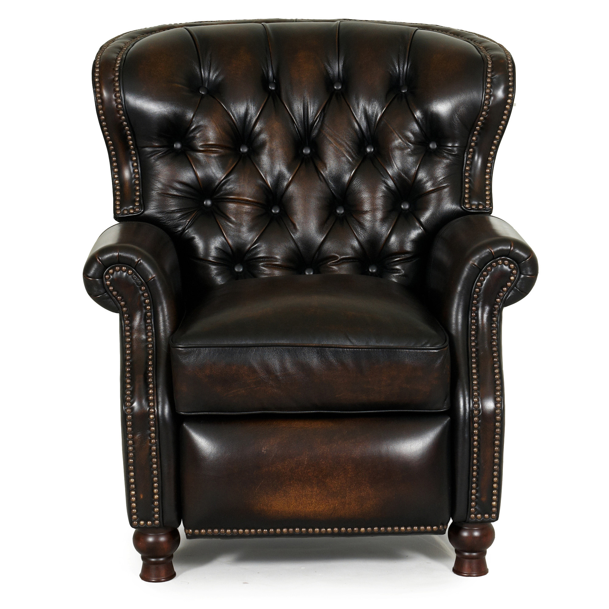 Barcalounger presidential ii leather recliner chair for Chair recliner