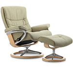 Stressless Nordic Power LegComfort Footrest Recliner Chair by Ekornes