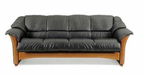 Ekornes Oslo Leather Ergonomic Sofa Couch Loveseat And Chair By