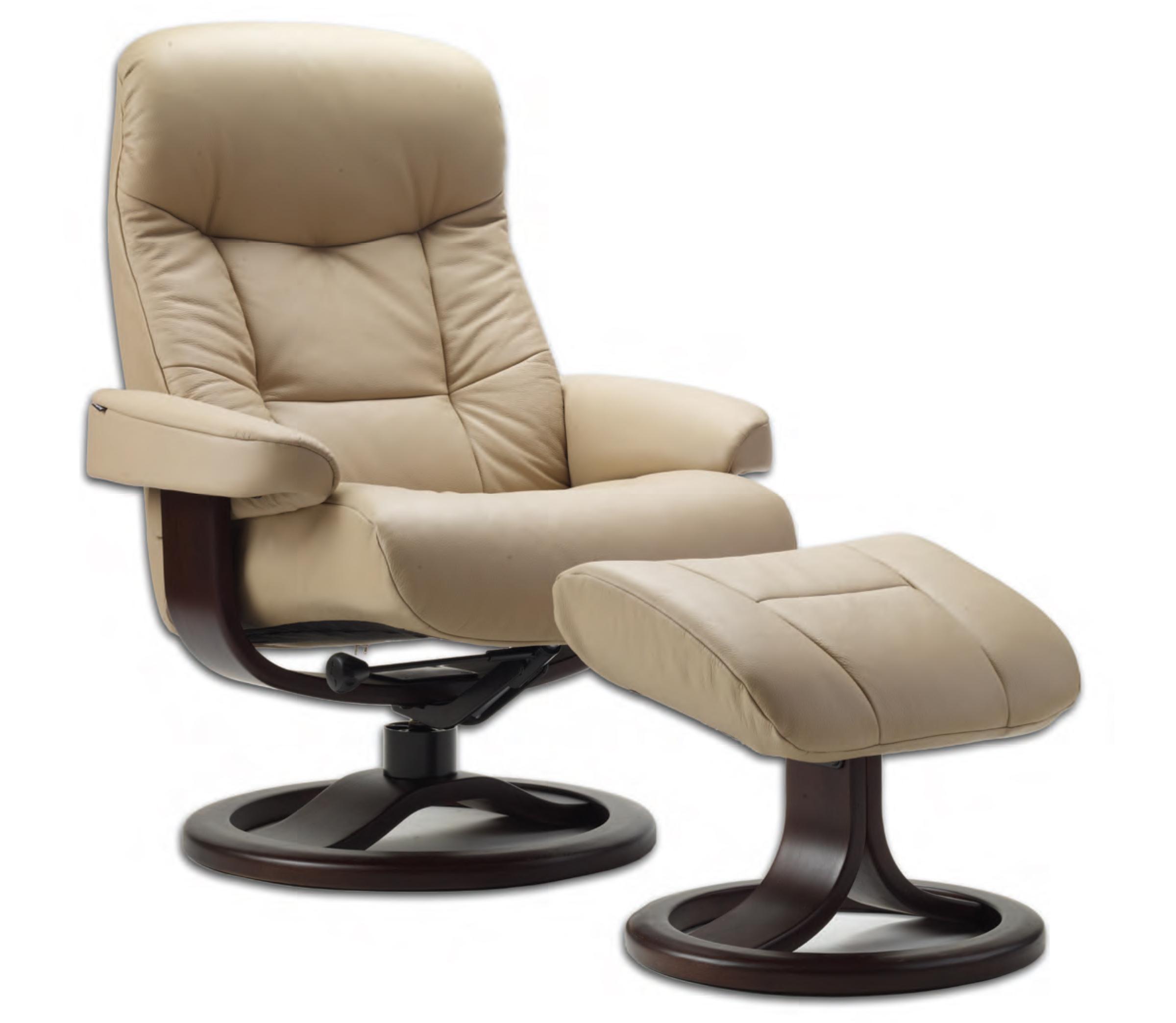 Superb Fjords 215 Muldal Ergonomic Leather Recliner Chair Ottoman Scandinavian Norwegian Lounge Chair By Hjellegjerde Theyellowbook Wood Chair Design Ideas Theyellowbookinfo