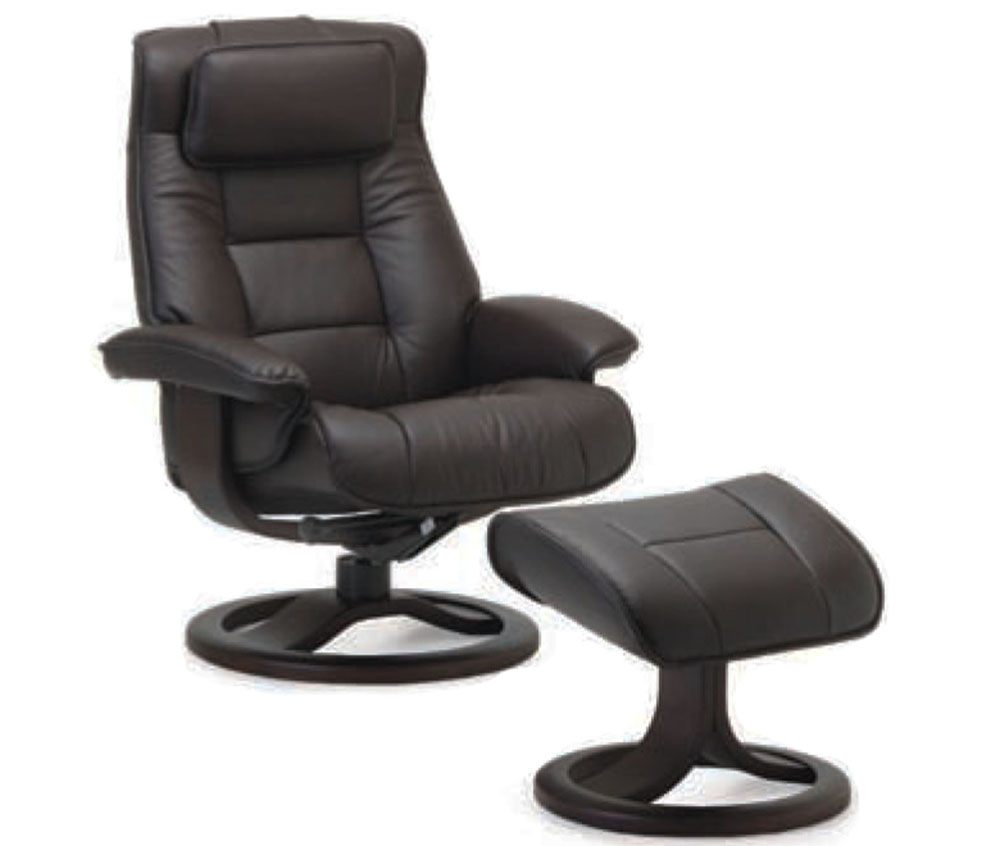 Amazing Leather Recliner With Ottoman Ncnpc Chair Design For Home Ncnpcorg