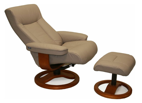 Sandel Leather Fjords ScanSit 110 Recliner Chair and Ottoman  sc 1 st  Vitalitywebb.com & Scansit 110 Ergonomic Leather Recliner Chair + Ottoman ... islam-shia.org