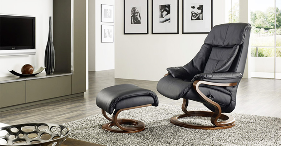 Himolla Palena Zerostress Transitional Recliner Leather
