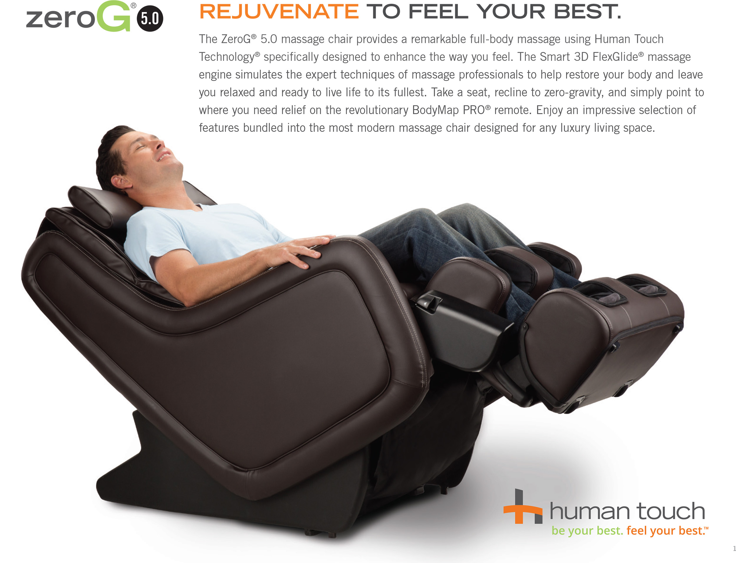 chair products recliners massage la touch active human ijoy