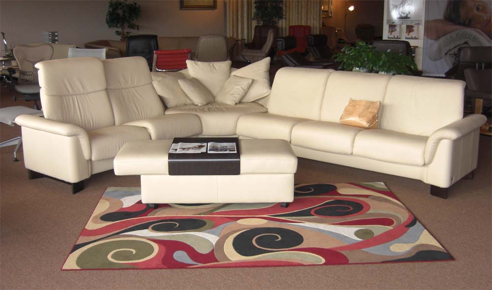 Stressless Paradise Paloma Kitt Leather Sectional Sofa by Ekornes