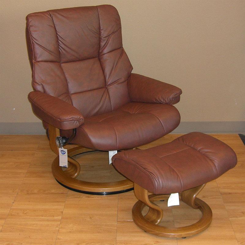 Bistro Cognac Brown Chair: Stressless Paloma Cognac 09441 Leather By Ekornes