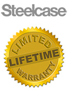 Steelcase Limited Lifetime Factory Warranty