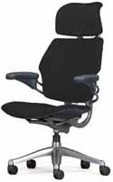 HumanScale Freedom Task Home Office Desk Chair with Headrest