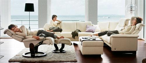 Ekornes Stressless Paradise High Back Sofa - Ekornes ...